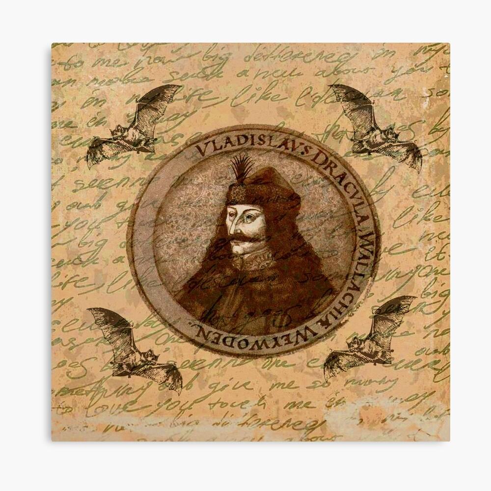 Graf Vlad Dracula Leinwanddruck