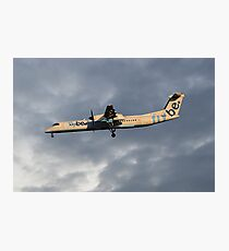 Flybe Bombardier Dash 8 Q400 Photographic Print