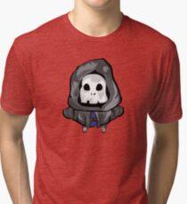 Death cartoon character Tri-blend T-Shirt