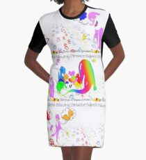 Following Dinosaur Footprints, The Book of Yawns, Adventure 3 friends Graphic T-Shirt Dress