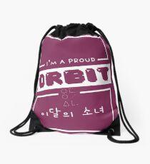"""I'm a Proud Orbit"" Drawstring Bag"