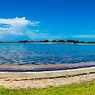 «Panorámica Cayo de Agua Los Roques Venezuela» de Org Bluewater