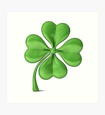 The Luck of the Irish! Good Luck! Art Print