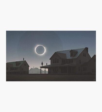 Solar Eclipse Photographic Print
