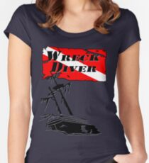 Shipwreck Diver Women's Fitted Scoop T-Shirt