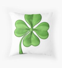 The Luck of the Irish! Good Luck! Throw Pillow