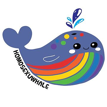 LGBTIQA Flag Homosexuwhale Pride by TheRainbowRoo