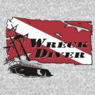 Shipwreck Diver 2 by Karri Klawiter