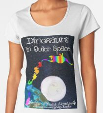 Dinosaurs in Outer Space, The Book of Yawns, Adventure 4 space walk Women's Premium T-Shirt