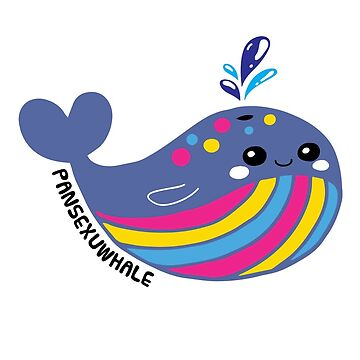 Pansexual Flag Pansexuwhale Pride by TheRainbowRoo