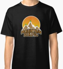 Outdoor Mountain Hiking Climbing Peak - Gift Idea Classic T-Shirt