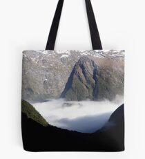 Low Clouds Tote Bag