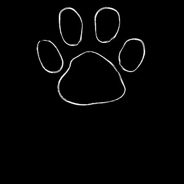 Dog Paw Silhouette Dog Lover Puppy Lover  by Tengerimalac75