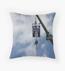 oh help!!!! Throw Pillow