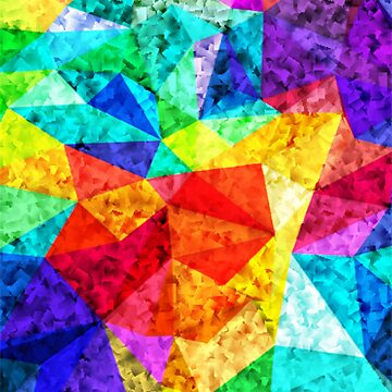 Mosaic Colorful Pattern by YellowLion