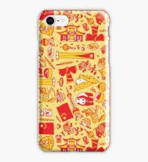 Colourful Pattern Design: China iPhone Case/Skin
