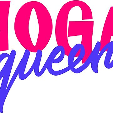 Yoga Queen 80s Style Colors by xsylx