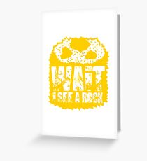 Geology Geologist Just another stone Greeting Card
