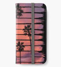 Sunset Beach Brush Strokes iPhone Wallet/Case/Skin