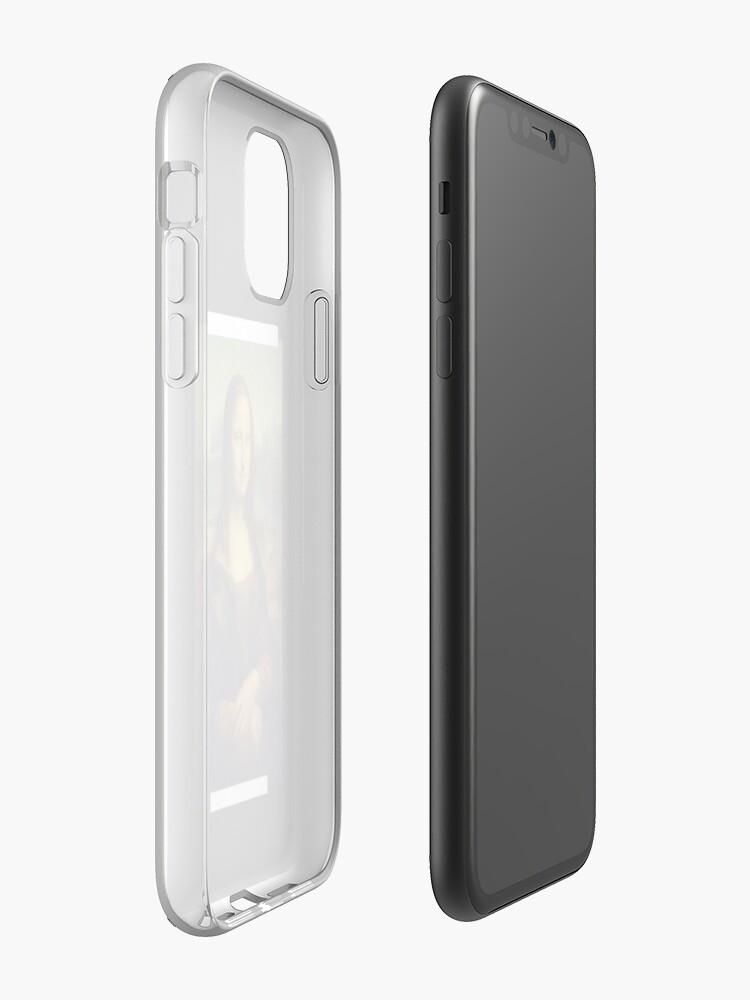 """Mona Lisa cremefarben"" iPhone-Hülle & Cover von bigsteve98"