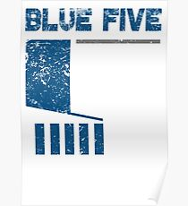 Blue 5 Poster