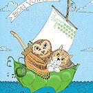 The Owl and the Pussycat by Sally Barnett