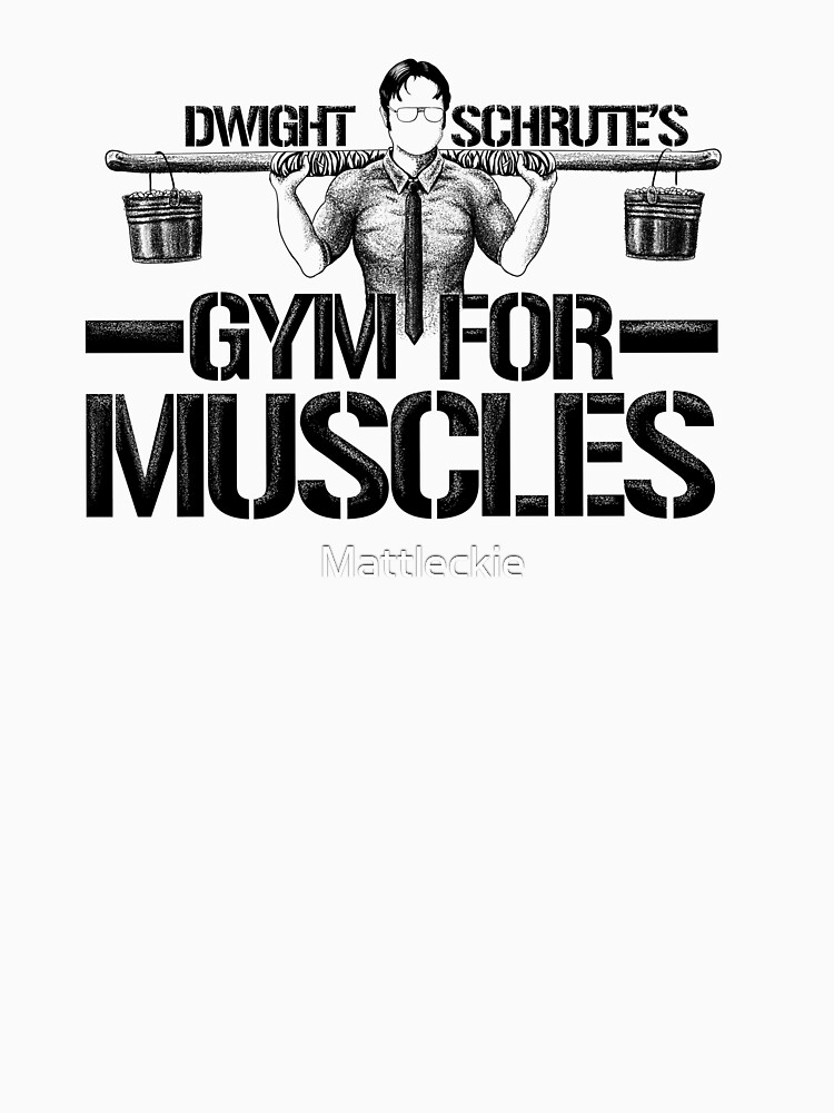 Dwight Schrute's Gym für Muskeln von Mattleckie
