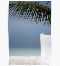 Beach view Poster