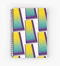 Alphabets - Yellow Green | YWZMHQ  8 Spiral Notebook
