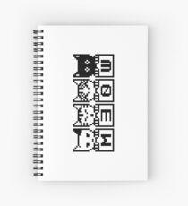 THE 8-BIT CATS M30W Spiral Notebook