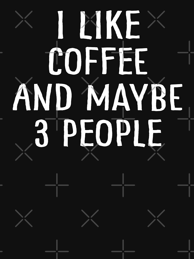 Me gusta el café y tal vez 3 personas de teesaurus