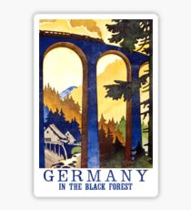 Black Forest Vintage Sticker