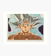 Goku Ultra Instinct - One Of A Kind - dessinés à la main Impression artistique