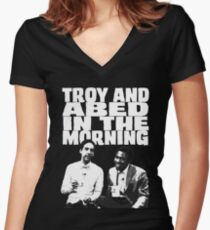 In The Morning Women's Fitted V-Neck T-Shirt
