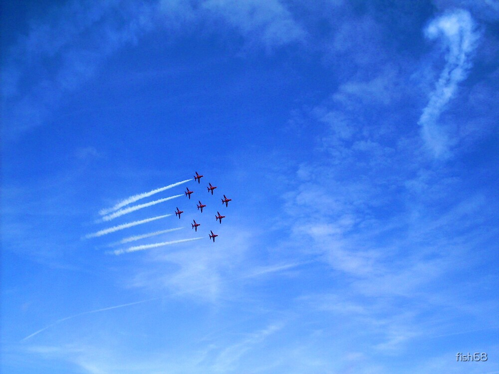 Red Arrows? by fish68