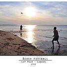 Beach football by Ameth