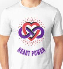 Infinity Heart Power Unisex T-Shirt
