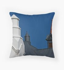 Turrets Throw Pillow