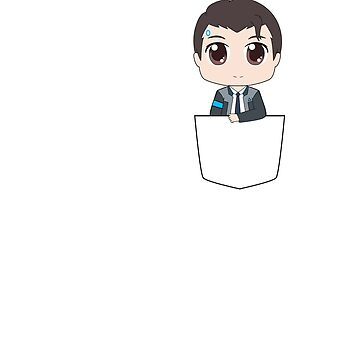 Chibi Connor in a pocket by drawingdream