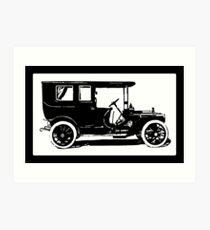 1909 Packard Limousine Pop Tee Art Print