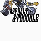 Asphalt & Trouble - Light by Fernando Bresciano