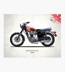 Bonneville T120 1969 Photographic Print