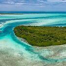 «Panorámica Boca de Bobos Los Roques Venezuela» de Org Bluewater