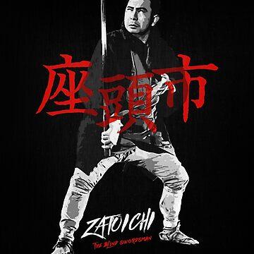 Zatoichi - The blind swordsman by adriangemmel