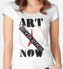 Viva la Art Revolution Women's Fitted Scoop T-Shirt