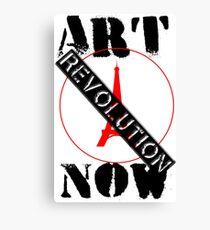 Viva la Art Revolution Canvas Print