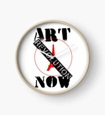 Viva la Art Revolution Clock