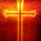 Cross in the window by kinz4photo