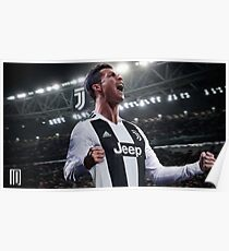 Cristiano Ronaldo Juve CR7 Poster