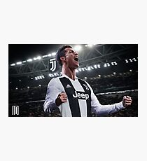 Cristiano Ronaldo Juve CR7 Photographic Print